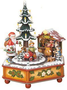 "Käthe Wohlfahrt - Online Shop   ""Christmas Time"", Music Box   Rothenburg ob der Tauber"