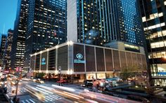 Experience Modern Style At The New York Hilton Hotel In Midtown Manhattan One Of Top Hotels Near Times Square