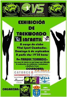 CORES DE CAMBADOS: EXHIBICIÓN DE TAEKWONDO EN CAMBADOS