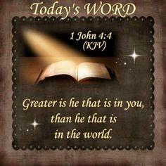 1 John 4:4 KJV