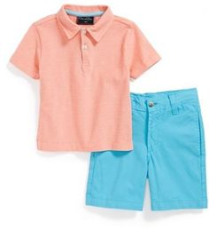 Oscar de la Renta Polo & Shorts (Baby Boys) on shopstyle.com