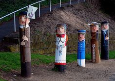 Bollards Geelong Australia | by Bernard Spragg