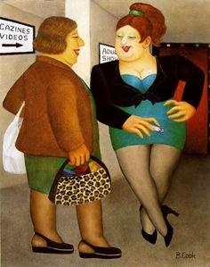 Beryl Cook (1926-2008)