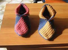 Resultado de imagem para chausson bébé crochet youtube