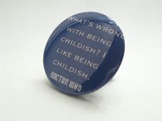 Hey, I found this really awesome Etsy listing at https://www.etsy.com/listing/157531556/doctor-who-quote-whats-wrong-with-being