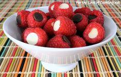 chocolate stuffed raspberries, #nyami cemilanya