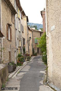 Street in the French village Bargemon. Flickr