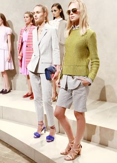 Did someone say seersucker? | Banana Republic Spring '16 NYFW Presentation