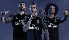 Real Madrid presentó su camiseta negra y morada para temporada 2016/17