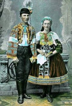 Trnavsky kroj  - I would like to know more about these people.