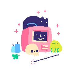 """cutedork:  """" ⚡️B E G L I T C H E D ⚡️  is  out  now   STEAM    ITCH.IO    HUMBLE   ☺︎ http://beglitched.net/ ✌︎  """""""