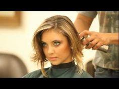 Instinto ousado faz advogada cortar o cabelo longo - YouTube