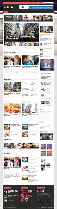 Noticia News & Magazine WordPress Theme - WPExplorer