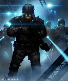 """Mercenary hacker, Benny """"The Factor""""s, hideout. Key frame concept art for the cyberpunk video game, V.Next. Bonus points if you can identifying all the screenshot easter eggs. You can find me on th..."""
