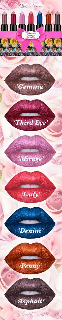 PERLEES: the matte pearl lipstick. Bridging the gap between matte and metallic! Shop now: limecrime.com/perlees/