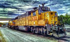 train engine by D.Baker Soph