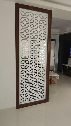 Everything you need to know about MDF,HDF, Particle Board Glass Partition Designs, Living Room Partition Design, Pooja Room Door Design, Living Room Divider, Living Room Tv Unit Designs, Living Room Decor, Wood Partition, Living Room Elevation, Jaali Design