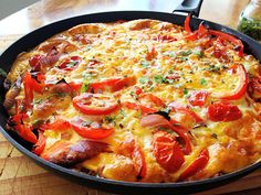 Healthy Spicy Frittata by ihavefoodonmyface #Eggs #Fritatta #Healthy