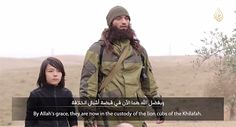 ISLAMIC STATE VIDEO PURPORTS TO SHOW BOY EXECUTING TWO SPIES