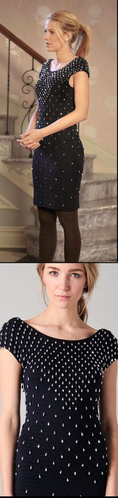 Gossip Girl 4x01 #BlairWaldorf #LeightonMeester | Cocktail dresses ...