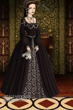 Mary Tudor ~ by Maia ~ created using the Tudors doll maker   DollDivine.com