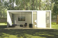 36 Outstanding Contemporary Modular Homes Picture Ideas. Prefab Curbed Contemporary Modular Homes Home Design Outstanding Picture Cheap Prefab Homes, Affordable Prefab Homes, Modern Prefab Homes, Prefabricated Houses, Modular Homes, Prefab Cabins, Backyard Cabin, Backyard Studio, Backyard Office
