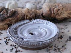 """Seifenschalen - Seifenschale """"Seifenschnecke"""" - weiß - ein Designerstück von SILKERAMIK bei DaWanda"""