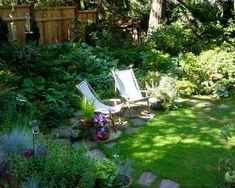 Simple..like it! Shade Garden Paths Design