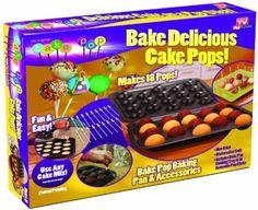 Amazon.com: Telebrands 5720-12 Bake Pop: Kitchen & Dining