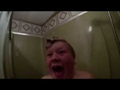Watch the whole thing here. | This Dad Terrifying His Kid In The Shower Is A Parenting Inspiration To Us All