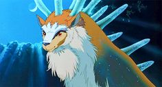 Great Forest Spirit - Princess Mononoke | 20 Most Adorable Supporting Hayao Miyazaki Creatures