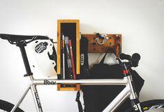 BERLIN+ Wooden Bicycle Shelf