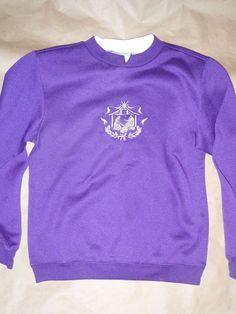 Just My Size 3X Soft Sweats 50//50 Fleece Lined Crew Neck L//S Sweatshirt Purple