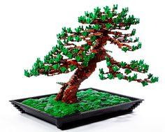 Lego Bonsai Tree by Makoto Azuma  @Rowan