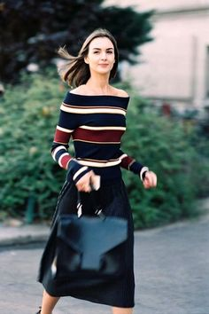 An Elevated Take On The Stripes-On-Stripes Look | Le Fashion | Bloglovin'