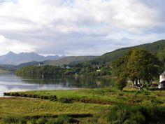 Portree, Isle of Skye Scotland, Mountains, World, Nature, Photography, Travel, Naturaleza, Photograph, Viajes