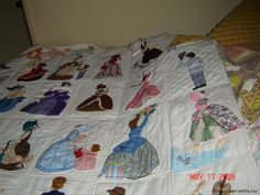 Лоскутное шитье и аппликация. Журнал Bonnet Girls (6) (700x525, 333Kb)