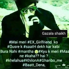 Hahaha Sahi h bahyyye Diary Quotes, Boy Quotes, Hindi Quotes, Quotations, Boy Facts, Attitude Quotes For Boys, Qoutes About Love, Boys Dpz, Status Quotes