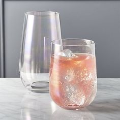 mirage iridescent barware | CB2