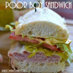 Poor Boy Sandwich