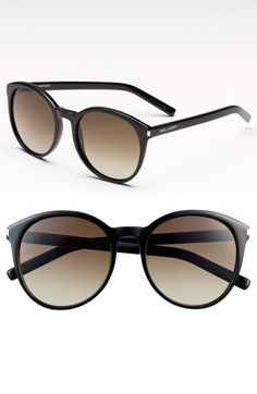 Saint Laurent 54mm Retro Sunglasses available at #Nordstrom..$325.00