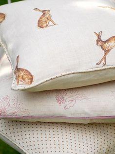 Hares fabric