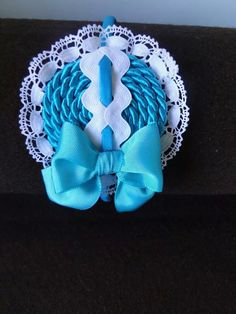 Qq Girls Bows, Communion, Cute Hairstyles, Hair Bows, Headbands, Diy And Crafts, Projects To Try, Scrap, Hair Accessories