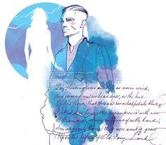 Teen magazine illustration September by Svetlana Ihsanova, via Behance