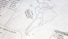 The Journal Map is made of writable, waterproof, tear proof material. When you return home, the Journal Map will look great on your wall reminding you of the good times.