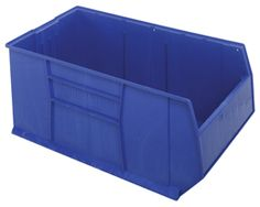 Need to store all kinds of tools and parts? The blue polypropylene bin from Quantum Storage Systems is ideal to store parts. With a sturdy build, it can hold up to 175 lb. Outside dimensions measure by by X 23, Tote Storage, Storage Chest, Plastic Injection Molding, Plastic Bins, Walmart Shopping, Storage Spaces, Pallet, 1