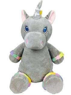 Baby Cubbies - Unicorn - Rainbow Grey