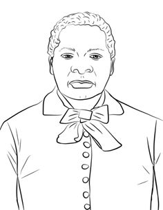 Phillis Wheatley coloring page from Famous people category