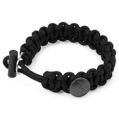 Armband EDC Gear Survival Bracelet Rope with Scraper Buckle Flint Fire Starter