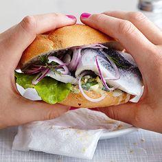 Hamburger Fischbrötchen Rezept | Küchengötter